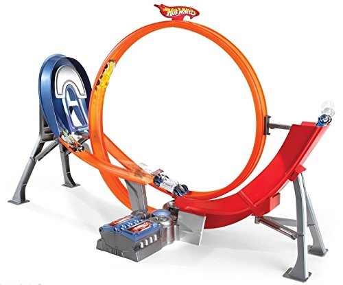 Hot Wheels Power Shift Raceway Motorized Loop & Jump (Power Wheel For 5 Year Old compare prices)
