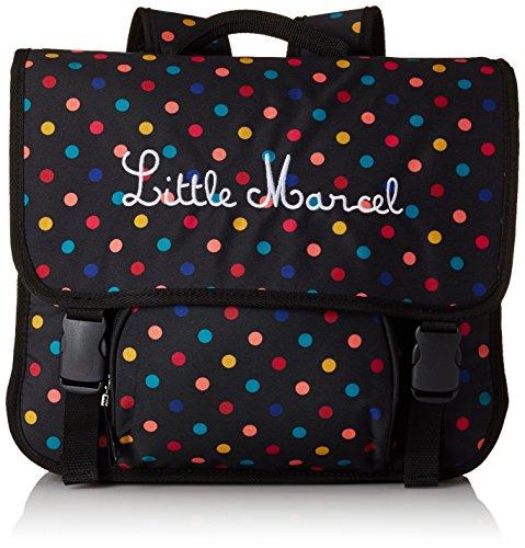 Little Marcel Zaino Scuola, POIS 328 (Multicolore) - H15ABAG0662