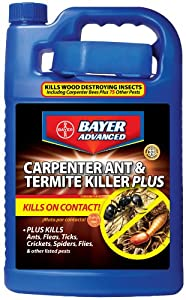 Bayer Advanced 700315 Carpenter Ant and Termite Killer Plus Concentrate, 1-Gallon