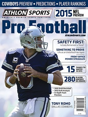 Athlon Sports 2015 NFL Pro Football Magazine Preview- Dallas Cowboys Cover