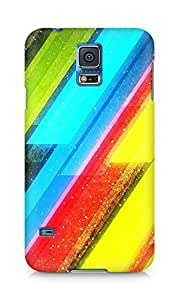 Amez designer printed 3d premium high quality back case cover for Samsung Galaxy S5 (Wonderful Pattern)