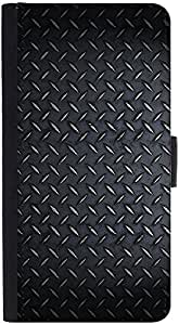 Snoogg Steel Texturedesigner Protective Flip Case Cover For Htc M8