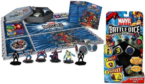 Marvel Heroes Battle Dice Starter Set - 1
