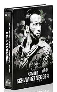 Arnold Schwarzenegger : Conan le barbare + Commando + Predator + Terminator + True Lies [Édition Limitée boîtier SteelBook]