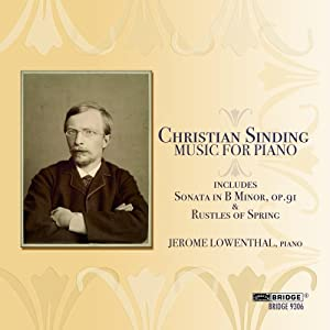Christian Sinding: Music for Piano