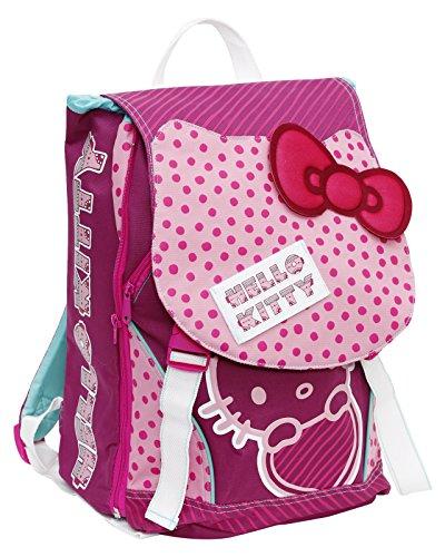 Giochi Preziosi - Hello Kitty Zaino Scuola Estensibile, con Cerchietto per Capelli in Omaggio