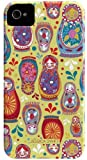 Case-Mate Barely There Jessica Swift Designer Case for Apple iPhone 4/4S - Matryoshka