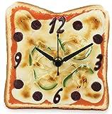 おりある 食品サンプル置き時計 ピザトースト時計 日本製 RGST02