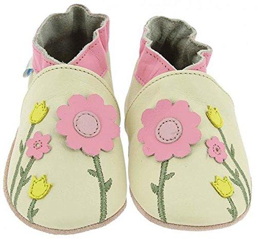Robeez Spring Flowers, Chaussures de Naissance bébé fille