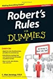 img - for Robert's Rules For Dummies 2nd edition by Jennings PRP, C. Alan (2012) Paperback book / textbook / text book