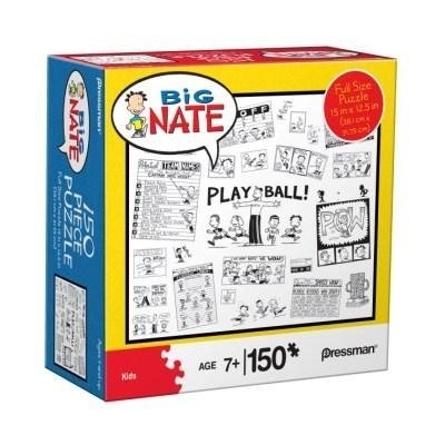 Big Nate 150 Piece Puzzle - Baseball by Pressman Toy - 1