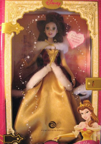 Brass Key Disney Enchanted Tales 'Belle' Winter Collection - Buy Brass Key Disney Enchanted Tales 'Belle' Winter Collection - Purchase Brass Key Disney Enchanted Tales 'Belle' Winter Collection (Brass Key Keepsakes, Toys & Games,Categories,Dolls,Porcelain Dolls)
