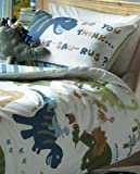 Catherine Lansfield Kids Dino Single Quiltset - Multi