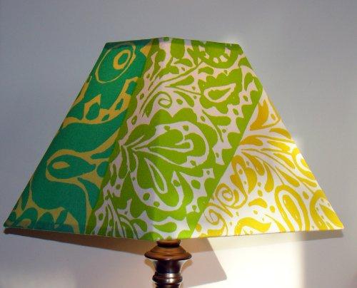 Custom Made Marimekko Sarafan Square Lamp Shade