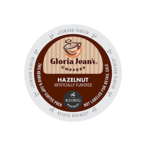 Gloria Jean's Coffee Hazelnut, K-Cup Portion Pack for Keurig Brewers 96-Count (Hazelnut K Cups compare prices)