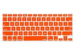 Kuzy - ORANGE Keyboard Cover Silicone Skin for MacBook Pro 13\