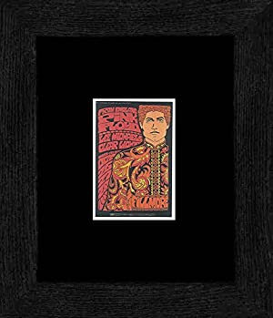 Pink Floyd Lee Michaels - Fillmore Auditorium San Francisco October 1967 Framed and Mounted Print - 20x18cm