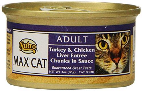 Nutro MAX CAT Adult Turkey & Chicken Liver Entrée