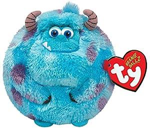 Ty Beanie Ballz Sulley Blue Monster Plush