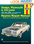 Dodge, Plymouth and Chrysler RWD, 197...