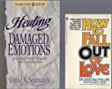 img - for 2 volume paperback collection. Includes: 1) How To Fall Out Of Love by Dr. Debora Phillips and 2) Healing For Damaged Emotions: Recovering From The Memories That Cause Our Pain by David A. Seamands book / textbook / text book