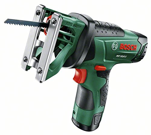 Bosch-DIY-Akku-Multisge-PST-108-LI-Akku-Ladegert-Sgeblatt-Koffer-108-V-20-Ah-30-mm-Schnitttiefe-in-Holz