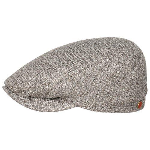 Frankie Exclusive Coppola Seta Mayser cappello piatto berretto estivo 62 cm - beige