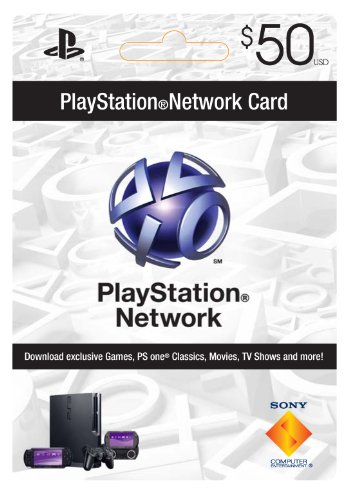Sony Playstation Network Card - $50 [Online Game Code]