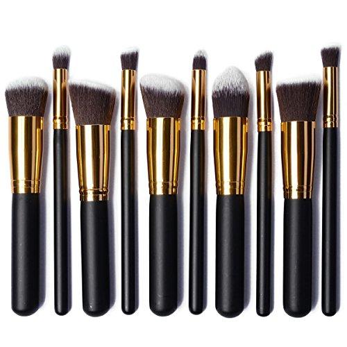 xcsourcer-10-pinceles-profecionales-brochas-maquillajes-conjunto-de-cepillos-brocha-sombra-blush-cor