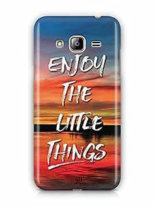 YuBingo Enjoy The Little Things Designer Mobile Case Back Cover for Samsung Galaxy J3 2016