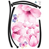 Easy Instant Decoration Wall Sticker Decal - Perfect Flower Stem
