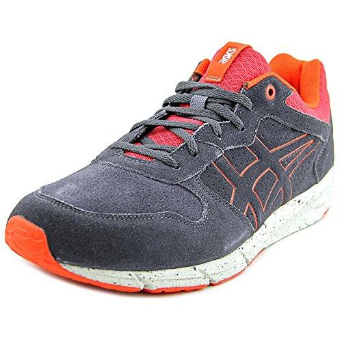 Onitsuka Tiger Shaw Runner Classic Running Shoe, Dark Grey/Dark Grey, 9 M US