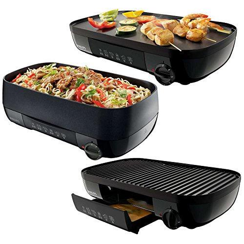 cheap philips 3 in 1 table grill wok teppanyaki bbq 1500 watt