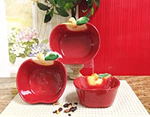 Http Www Amazon Com Kitchen Decor Apple Serving Canister Dp B007pkbwxc