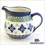 [Boleslawiec/ボレスワヴィエツ陶器]ミニピッチャー(クリーマー)-du60(ポーリッシュポタリー)
