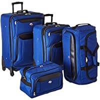 American Tourister Brookfield 4-Piece Luggage Set - Navy or Black