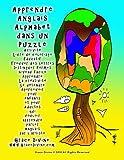 Apprendre Anglais Alphabet dans un Puzzle Activité Livre de coloriage Éducatif Trouver des lettres Distinguer formes niveau facile Apprendre La ... l'artiste Grace Divine  www.GraceDivine.com...