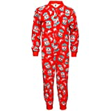 Liverpool FC Official Football Gift Boys Kids Pyjama Onesie