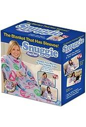 Snuggie Fleece Blanket with Sleeves, Peace