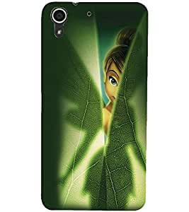 PrintDhaba Angel D-2332 Back Case Cover for HTC DESIRE 728 (Multi-Coloured)