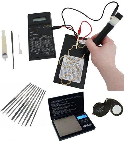 Tri Electronics Gt-3000 18K Electronic Gold Test Testing Equipment Usa New Gel