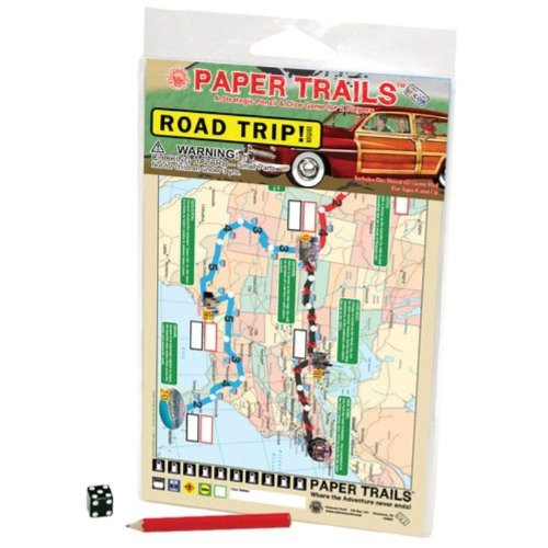 Paper Trails Road Trip Travel - 1