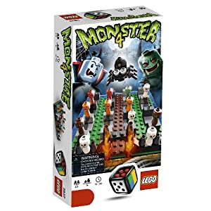 LEGO board game: Monster 4!