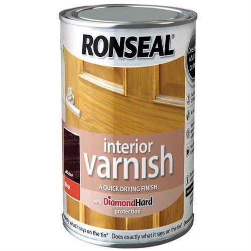 ronseal-rslingwn250-250ml-quick-dry-gloss-interior-varnish-walnut