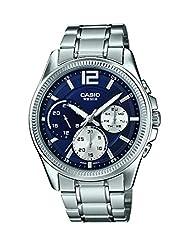 Casio Enticer Analog Black Dial Women's Watch - MTP-E305D-2AVDF(A992)
