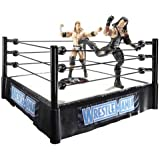 WWE Wrestlemania Superstar Ring with 2 Figures - Undertaker and Triple H