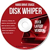 DISC WIPER CD - HARD DRIVE DATA ERASER - DISK WIPE Windows/MAC/Linux - 2013
