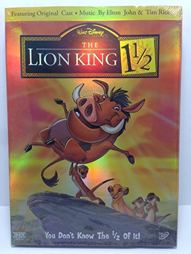 The Lion King 1 1/2 DVD, 2004, 2-Disc Set, Limited Edition Collectible Packaging