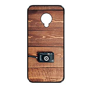 Vibhar printed case back cover for Samsung Galaxy S4 WoodCamera