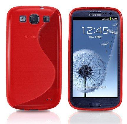 Samsung Galaxy S3 / Samsung Galaxy S3 Neo Schutzhülle S-Line TPU Case Rot
